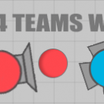 Diep.io 2 Teams & 4 Teams Game Modes