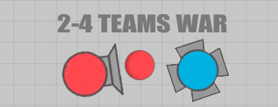 Photo of Diep.io 2 Teams & 4 Teams Game Modes