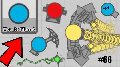 diep.io mounted turret tank