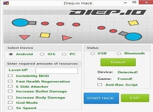 diep.io cheat codes